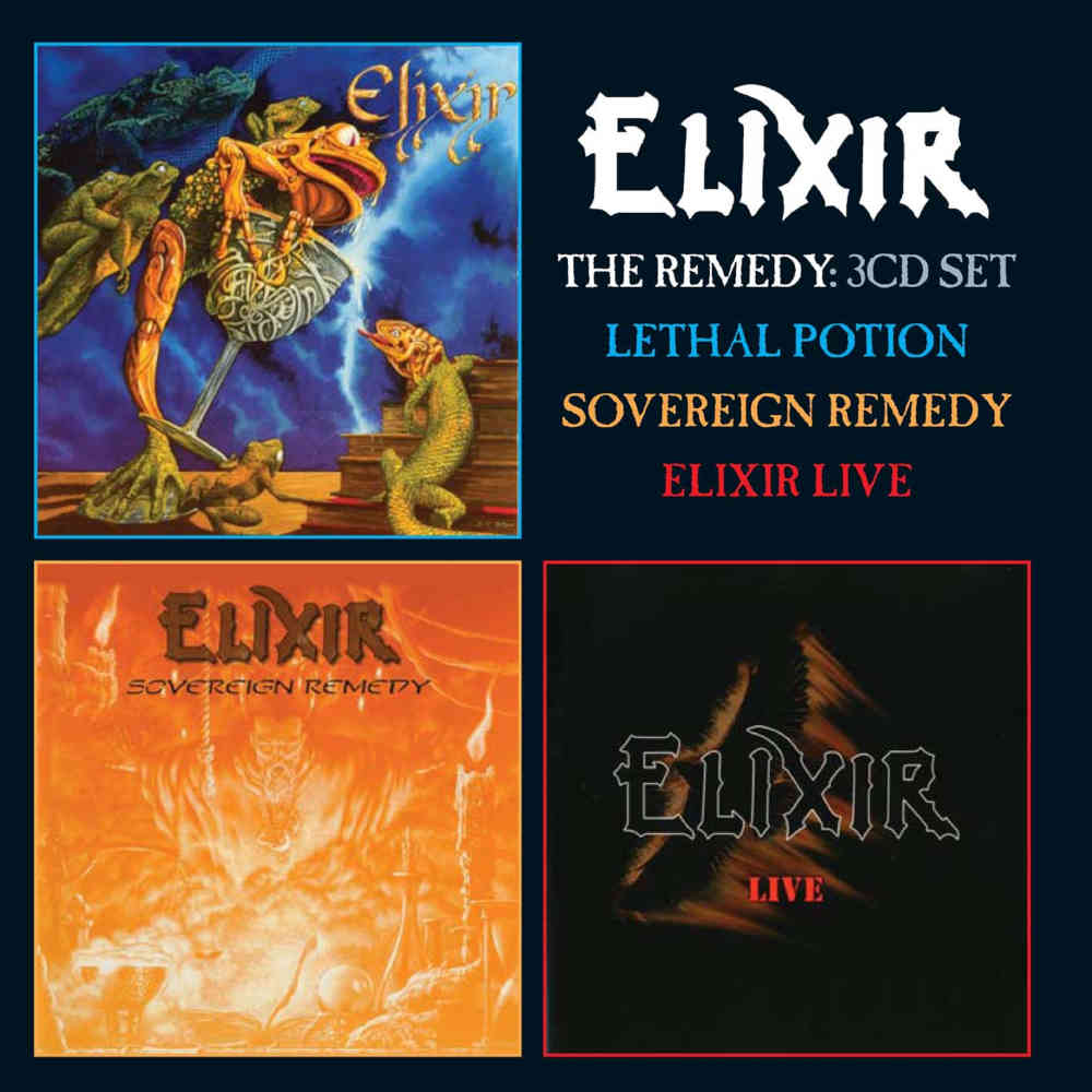 The Remedy: Lethal Potion / Sovereign Remedy / Elixir Live, 3CD Remastered Boxset Edition