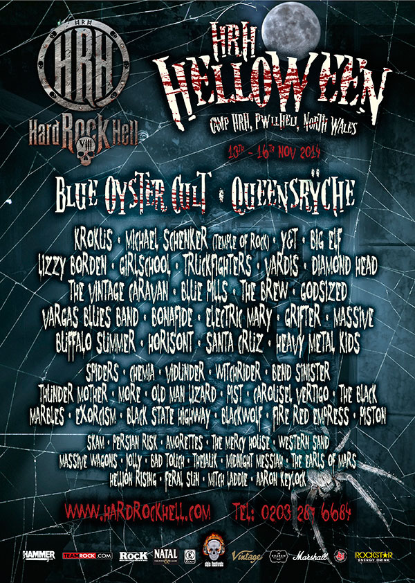 Hard Rock Hell 8 poster